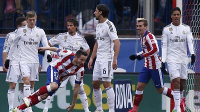أتليتكو يمزق شباك ريال مدريد برباعية نظيفة