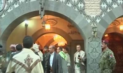 مسلحون حوثيون يقتحمون مكتب رئاسة الجمهورية