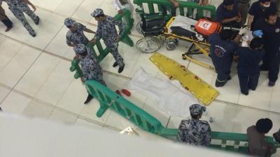 إنتحار إمرأة صينية داخل المسجد الحرام بمكة ( صورة)