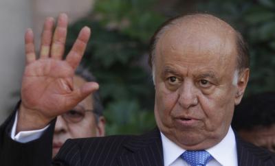 عاجل : الرئيس هادي يغادر صنعاء وعملية نهب واسعة تطال منزله