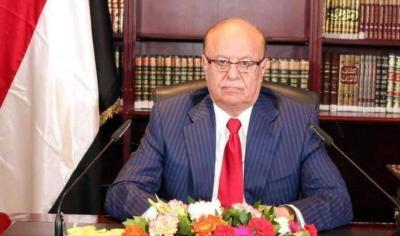 الرئيس هادي يباشر مهامه الرئاسية من عدن بعدداً من اللقاءات