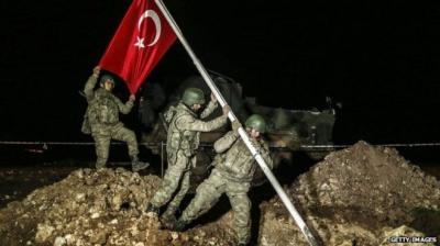 """دمشق: التدخل التركي في سليمان شاه """"عدوان صارخ"""""""