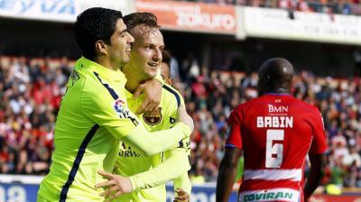 برشلونة ينتزع النقاط من مضيفه غرناطة