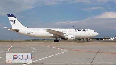 وصول أول طائرة إيرانية إلى مطار صنعاء الدولي بعد إتفاقات مع الحوثيين (صورة)