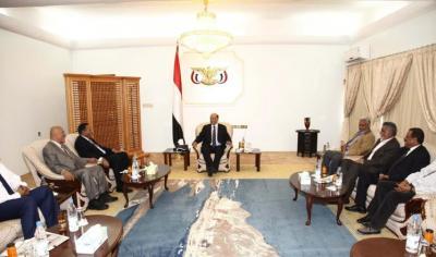 """الرئيس هادي يصف صنعاء بالعاصمة المحتله ويتهم الحوثيين والرئيس السابق """" صالح"""" بالإنقلاب"""