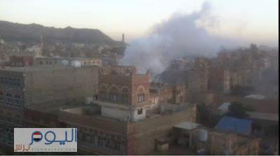 حقيقة الإنفجار الذي هز منطقة شعوب بالعاصمة صنعاء ( صوره)