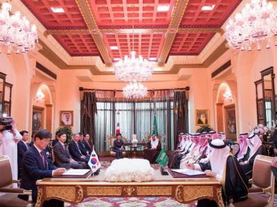 السعودية وكوريا توقعان مذكرة تعاون نووي سلمي