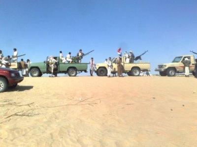 قتلى وجرحى في مواجهات مسلحة بمأرب بين قبيلة موالية للحوثيين وأخرى مناهضة  ( الأسماء - تفاصيل)