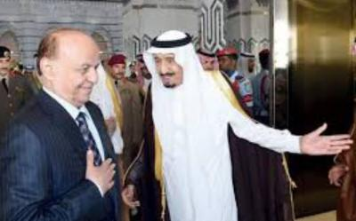 الرئيس هادي يبعث برسالة إلى الملك سلمان وقادة دول الخليج والديوان الملكي السعودي يرد على تلك الرسالة ( نص الرسالة)