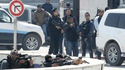 22 قتيلا أغلبهم سياح بالهجوم أمام برلمان تونس