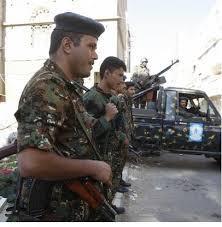 """قوات النجدة والأمن الخاص """" الأمن المركزي """" بمحافظة لحج تستسلم للجان الشعبية وتعلن ولائها للرئيس هادي"""