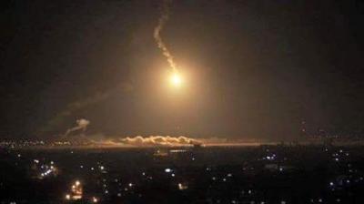 تدمير كامل لقاعدة الديلمي الجوية  وألوية الصواريخ  من قبل الطيران السعودي والمصري