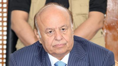 الرئيس هادي يغادر إلى شرم الشيخ لحضور القمة العربية