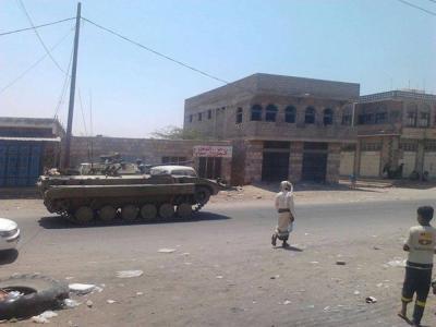 قوات موالية للحوثيين تصل ضواحي مدينة بيحان