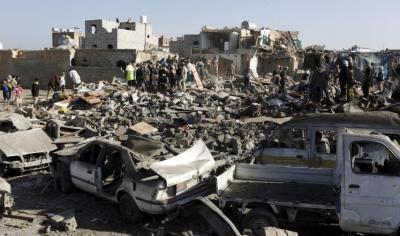 تفاصيل بالمواقع العسكرية اليمنية التي تم إستهدافها من قبل الطيران السعودي وحلفاؤه منذ بداية الحملة وحتى اللحظة