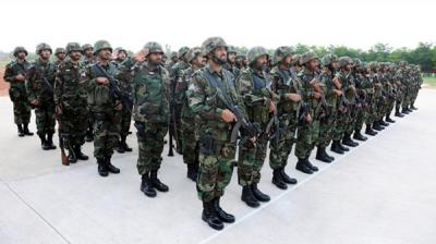 انطلاق تدريبات عسكرية بين القوات البرية السعودية ووحدات من القوات الخاصة الباكستانية على حدود اليمن