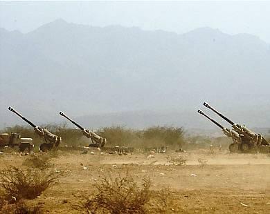 إشتباكات عنيفة بين الحوثيين والجيش السعودي على الحدود اليمنية السعودية