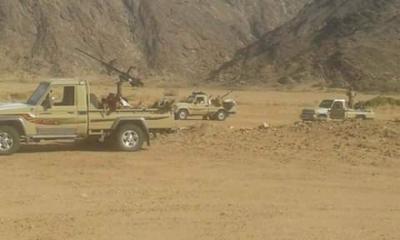 مقتل أكثر من 23 حوثياً و9 من أبناء القبائل بمديرية بيحان بشبوة والحوثيون يتراجعون