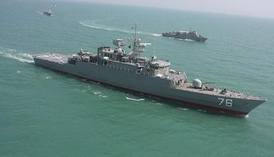 سفن حربية  إيرانية تتجه إلى باب المندب وإيران تبرر تحرك تلك السفن الحربية