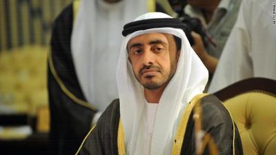 وزير الخارجية الإماراتي يهاجم الحوثيين ويقول إن التدخل في اليمن كان إضطرارياً