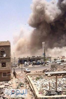 طيران التحالف يستهدف اليوم بالخطأ مدنيين ويقتل أسرة بكاملها بعمران