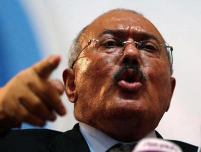 """الرئيس السابق """" صالح """" يظهر من جديد ويبعث برسالة تحدي"""