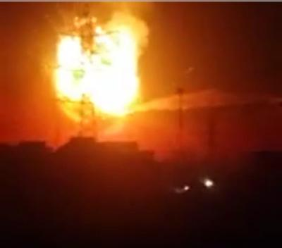 حريق هائل بجبل عطان بالعاصمة صنعاء وانفجارات تهز المنطقة