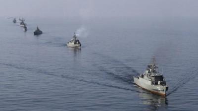 توتر الأوضاع في المياة الإقليمية اليمنية بعد وصول سفن حربية أمريكية وإيرانية