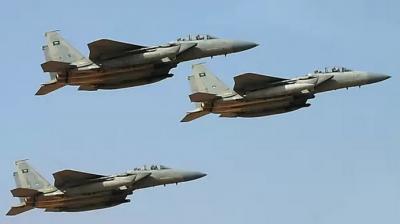أسماء المواقع والمعسكرات التي إستهدفها طيران التحالف اليوم الخميس