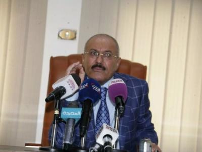"""الرئيس السابق """" صالح """" يدعوا الحوثيين للقبول بقرارات مجلس الأمن ويدعوا لحوار سعودي يمني ( نص النداء)"""