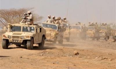 حرس الحدود السعودي يكشف عن معارك شرسة مع الحوثيين على الحدود ويتحدث عن توغل الحوثيين بسيارات تحمل أسلحة