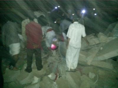 ( بالصور ) أسماء المواقع التي قصفها طيران التحالف بالعاصمة صنعاء مساء أمس وفجر اليوم الجمعة