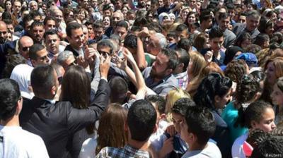 الرئيس السوري بشار الأسد يعترف بهزيمة الجيش السوري في أكثر من منطقة
