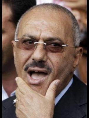 غارات جوية لطيران التحالف تستهدف منزل الرئيس السابق صالح بصنعاء ومصادر تكشف مصيره
