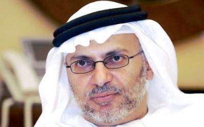 وزير الدولة الإماراتي للشئون الخارجية : الحوثيون جزء من العملية السياسية ويمكن الوصول لحل سياسي  في اليمن بشرط