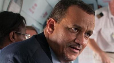 المبعوث الأممي إلى اليمن إسماعيل ولد الشيخ يصل صنعاء ويدلي بأول تصريحاً له فور وصوله