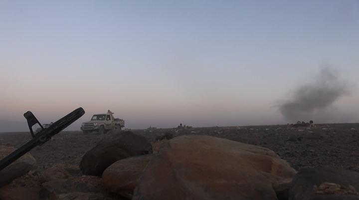 منطقة واحدة تفصل قبائل الجوف عن مشارف صعدة بعد تقدمها وسيطرتها على مواقع هامة للحوثيين