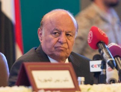 """الرئيس هادي يحدد موقف الحكومة اليمنية من المشاركة بحوار """" جنيف"""" ويكشف الأسباب"""