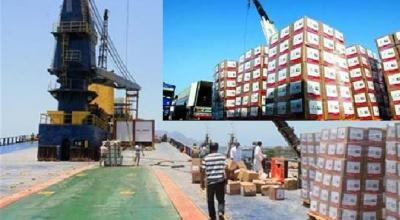 وصول رابع سفينة مساعدات إماراتية إلى عدن