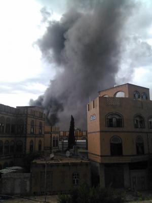 ايران تحتج على السعودية لسقوط صاروخين قرب سفارتها بصنعاء