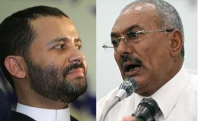 """حميد الأحمر يرد على خطاب الرئيس السابق """" صالح """" بعبارتين"""