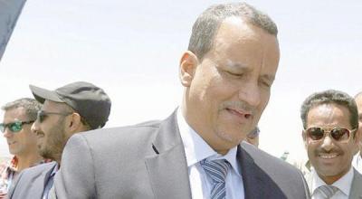 المبعوث الأممي ولد الشيخ يغادر صنعاء للقاء هادي وحزب المؤتمر يتحدث عن تعامله سيكون إيجابي مع قرارات مجلس الأمن