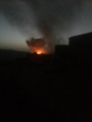 عاجل : قصف جوي عنيف لطيران التحالف على معسكر النقل بالعاصمة صنعاء ( صو)