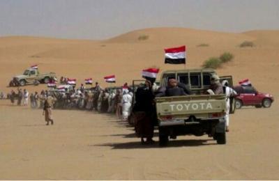 مواجهات عنيفة بين الحوثيين والقبائل بالجوف بالقرب من منطقة اليتمة لإستراتيجية وتعزيزات كبيرة تصل للحوثيين