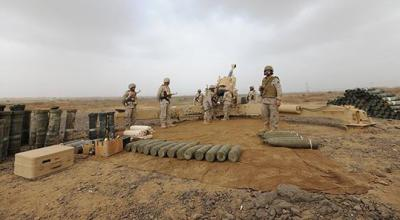 مواجهات عنيفة على الحدود اليمنية السعودية والحوثيون وقوات الحرس الجمهوري يشنون أعنف هجوم على قطاع جيزان