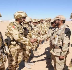 أول دولة ترسل قوات برية إلى الحدود مع اليمن لمساندة السعودية - تفاصيل