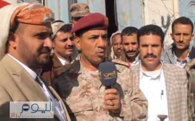 """من هو القائد العسكري اللوء """" الذفيف """" الذي دمرت طائرات التحالف منزله بمديرية همدان بصنعاء وعلاقته بالحوثيين ؟"""