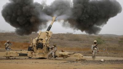 مواجهات عنيفة وإشتداد المعارك بالقرب من منطقة جازان على الحدود اليمنية السعودية