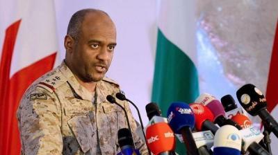 """الناطق بإسم التحالف العميد """" عسيري""""  يقول أن الأمم المتحدة  طلبت موافقة التحالف بشأن مغادرة وفد الحوثيين والمؤتمر إلى جنيف"""