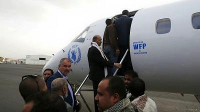 تصريح هام من هيئة الطيران المصرية يكشف حقيقة منع طائرة الوفد الحوثي المتجه الى جنيف من العبور فوق الأجواء المصرية